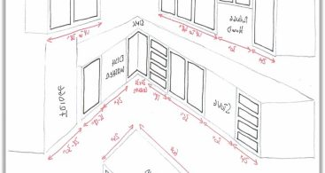 367x195 Kitchen Cabinets Sizes Layout