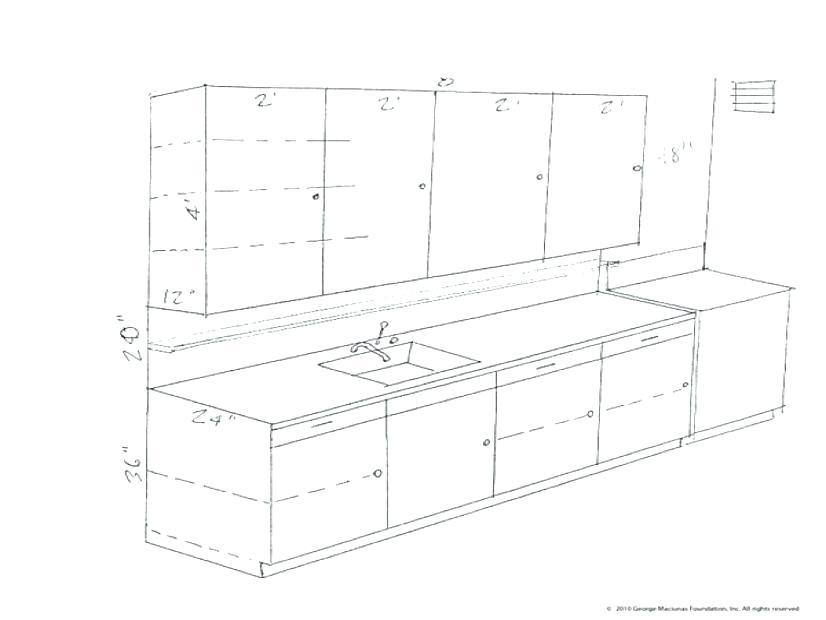 826x620 Upper Cabinet Height Options Kitchen Layout Planner Standard