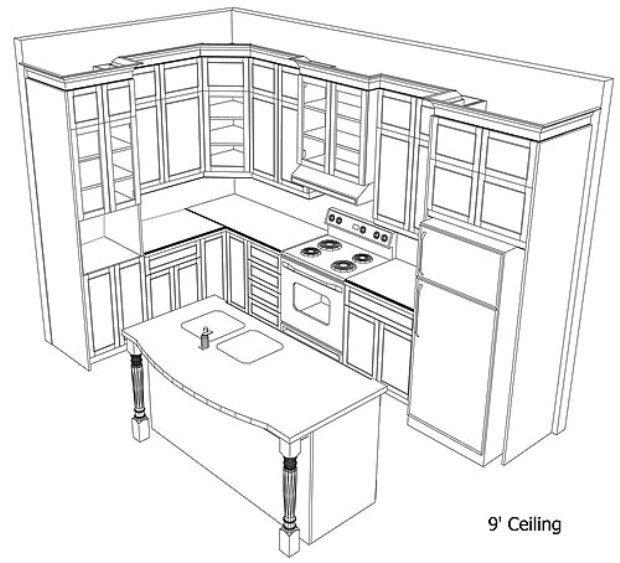 620x563 96 Best Kitchen Cabinets Design Ideas Images