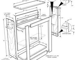 250x200 Incredible Cabinet Drawings Free Ideas Kitchen Cabinets Building