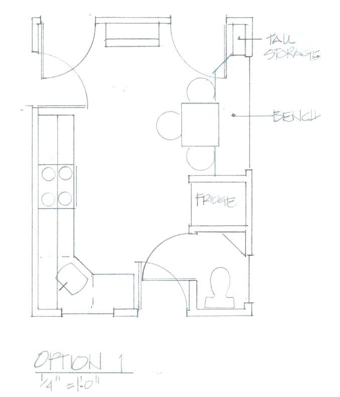 677x790 Kitchen Drawing Tool