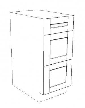 300x381 Drawer Base Cabinets