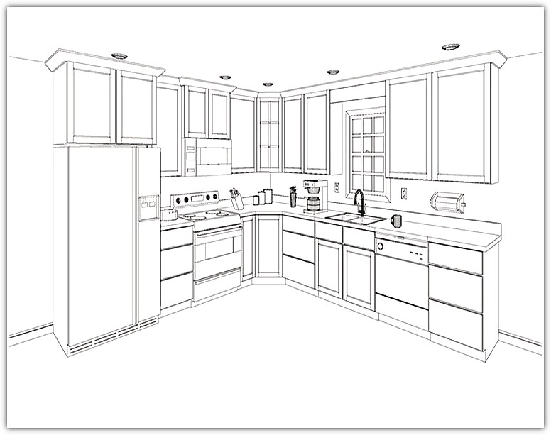 776x613 Kitchen Cabinet Layout Home Designs Idea