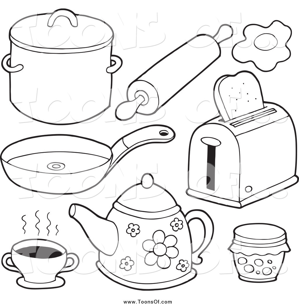 kitchen cartoon drawing at getdrawings com free for personal use