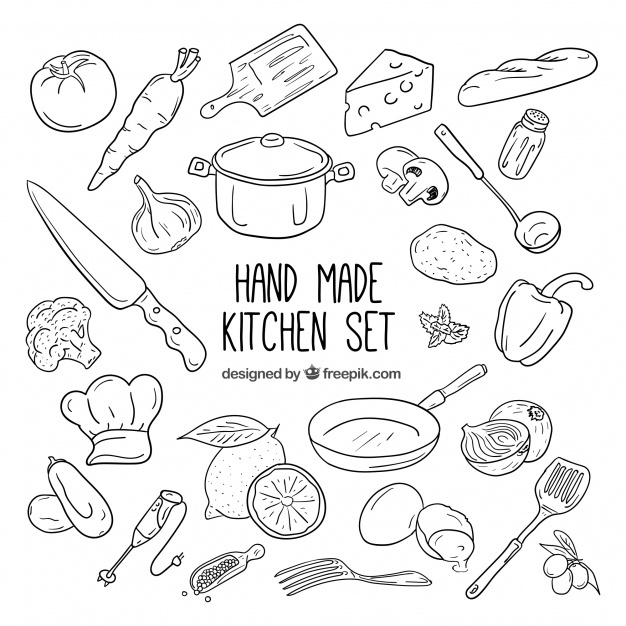 Kitchen Cartoon Drawing At Getdrawings Com