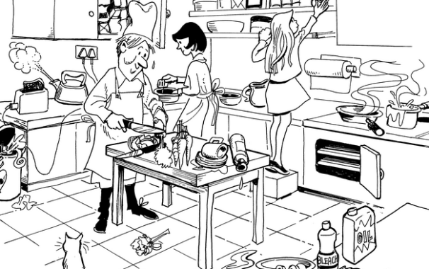 606x380 Home And Commercial Kitchen Safety Tips