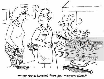 400x305 Men Cooking Cartoons And Comics
