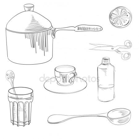 450x450 Cartoon Pan Cooking Steel Home Kitchen Equipment Pot Vector