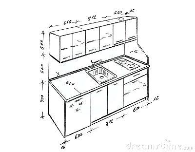 400x312 Beautiful Kitchen Design Measurements