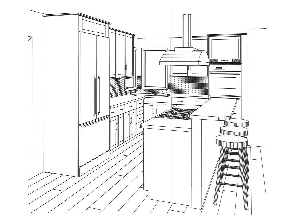 1200x927 Harrisburg Pa Contemporary Kitchen