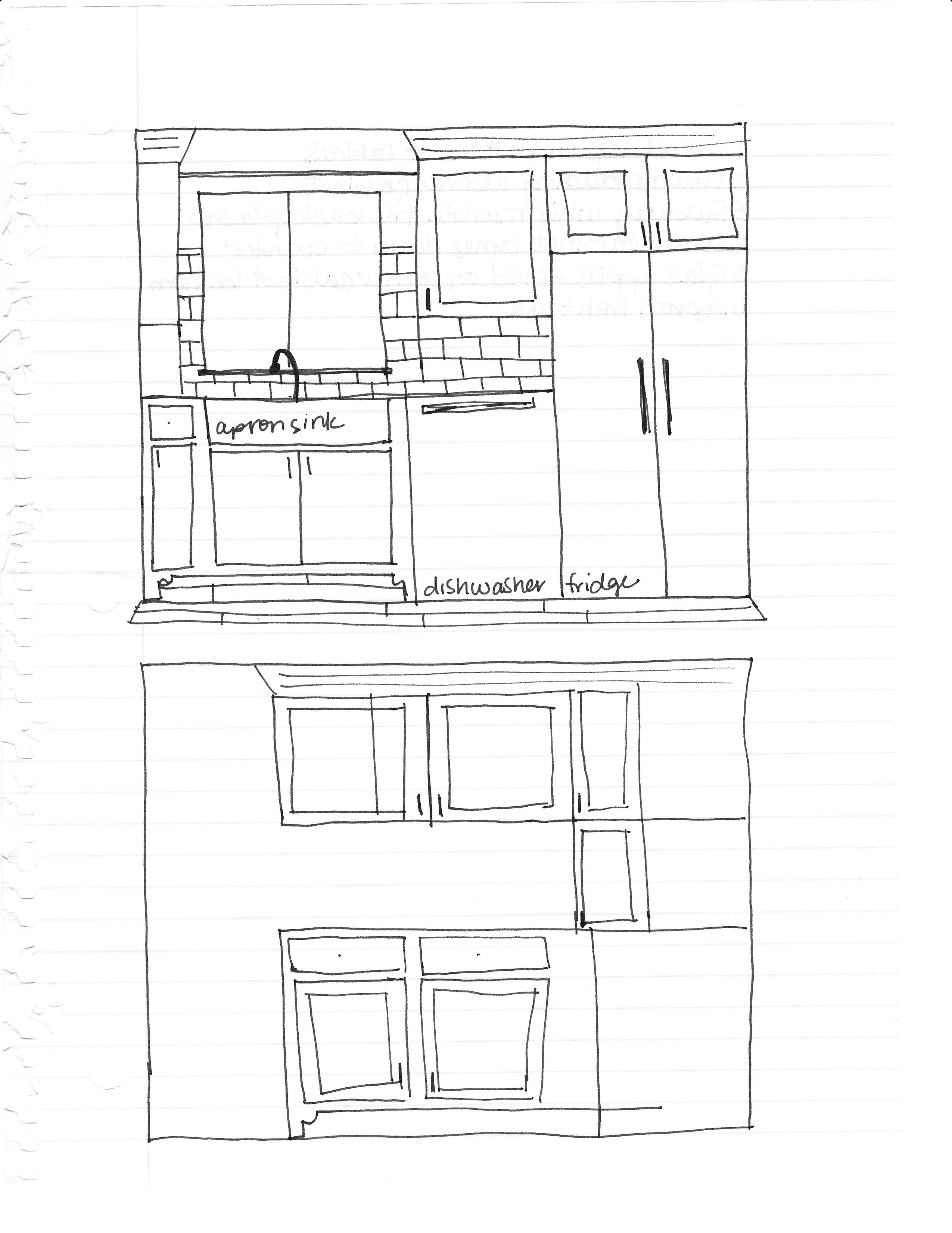 2550x3300 New Kitchen Drawings And Plans