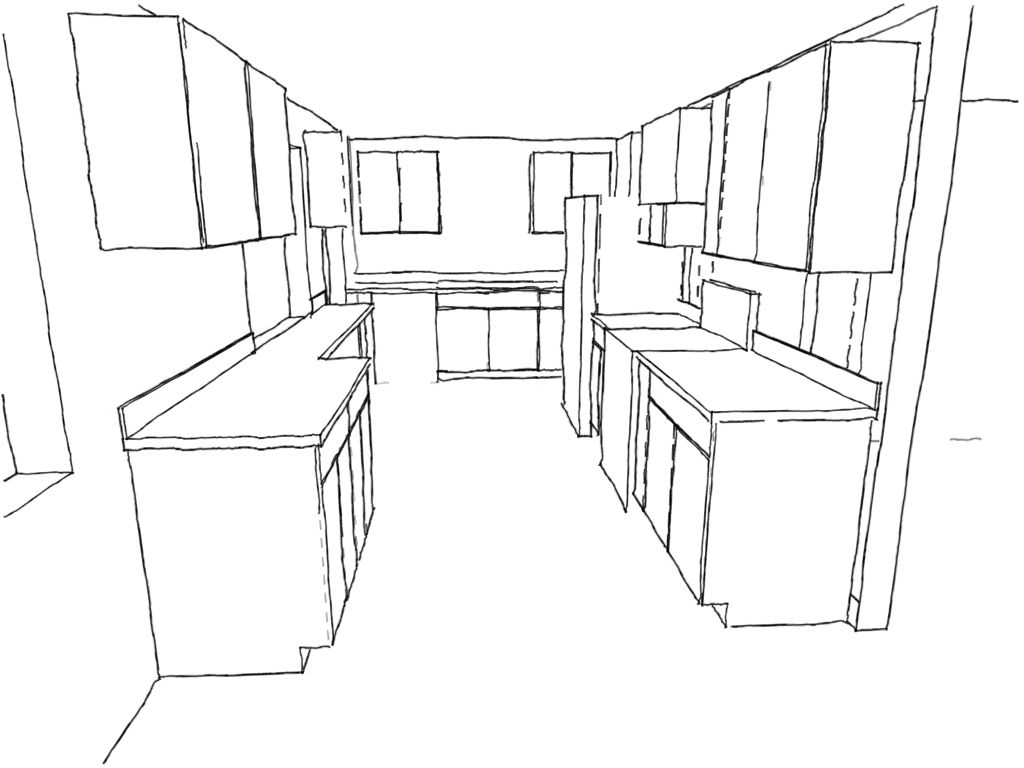 Unique Kitchen Sketch Photo - Best Kitchen Ideas - i-contain.com