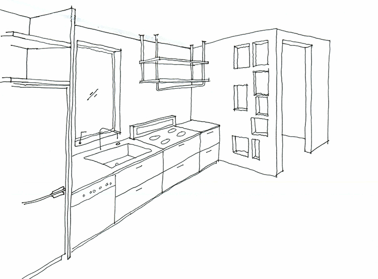 Kitchen Drawing At Getdrawings Com Free For Personal Use Kitchen