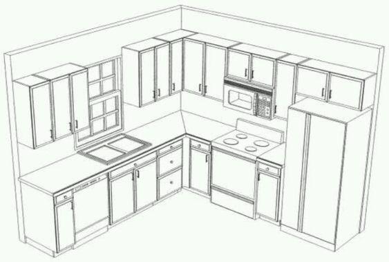 563x379 All Solid Wood Kitchen Cabinets Geneva 10x10 Rta Solid Wood