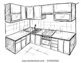 283x220 Pencil Drawings Of Kitchens