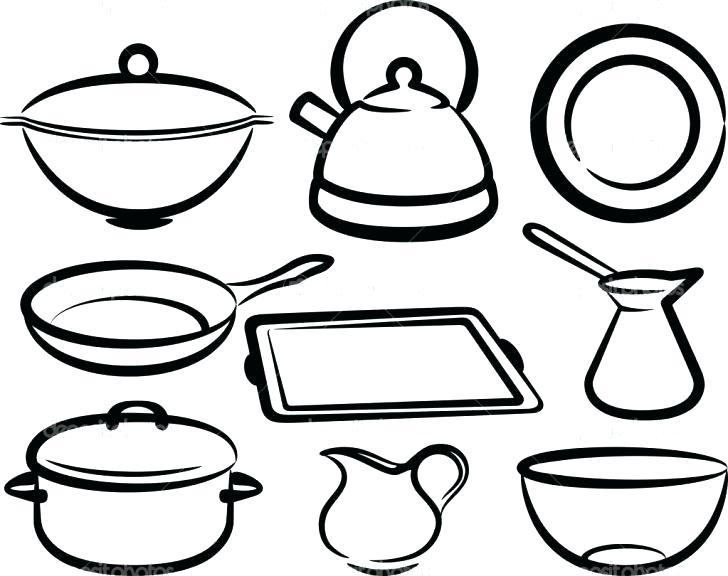 Kitchen Tools Drawing at GetDrawings