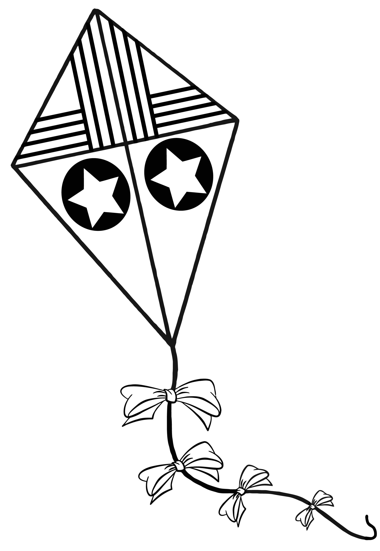 Kite Drawing at GetDrawings | Free download
