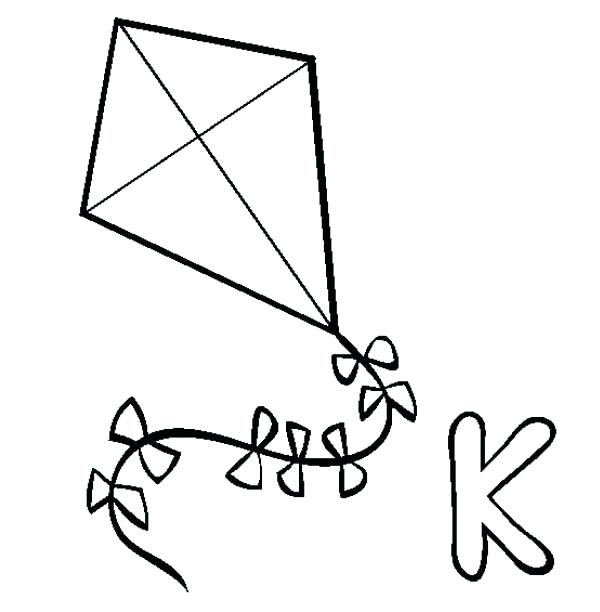 Kite Drawing Images At GetDrawings