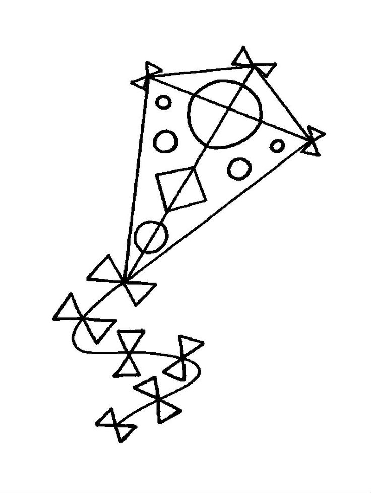 Kite Images For Drawing