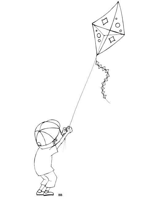 Kites Drawing