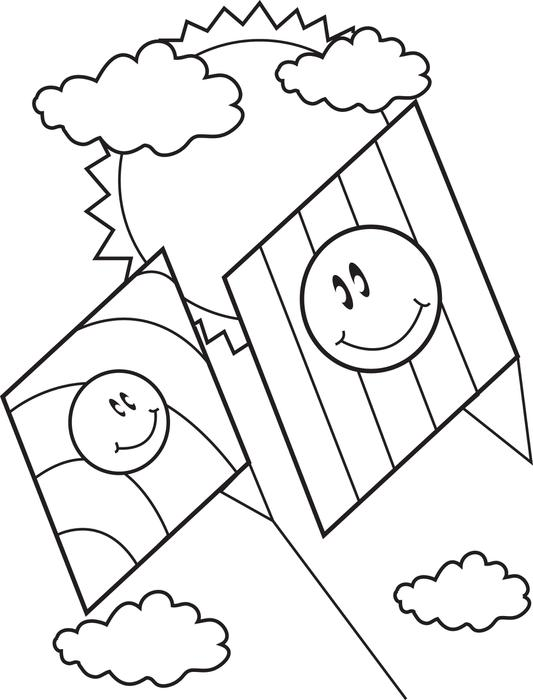 533x700 Free Printable Cartoon Monkey Coloring Page For Kids