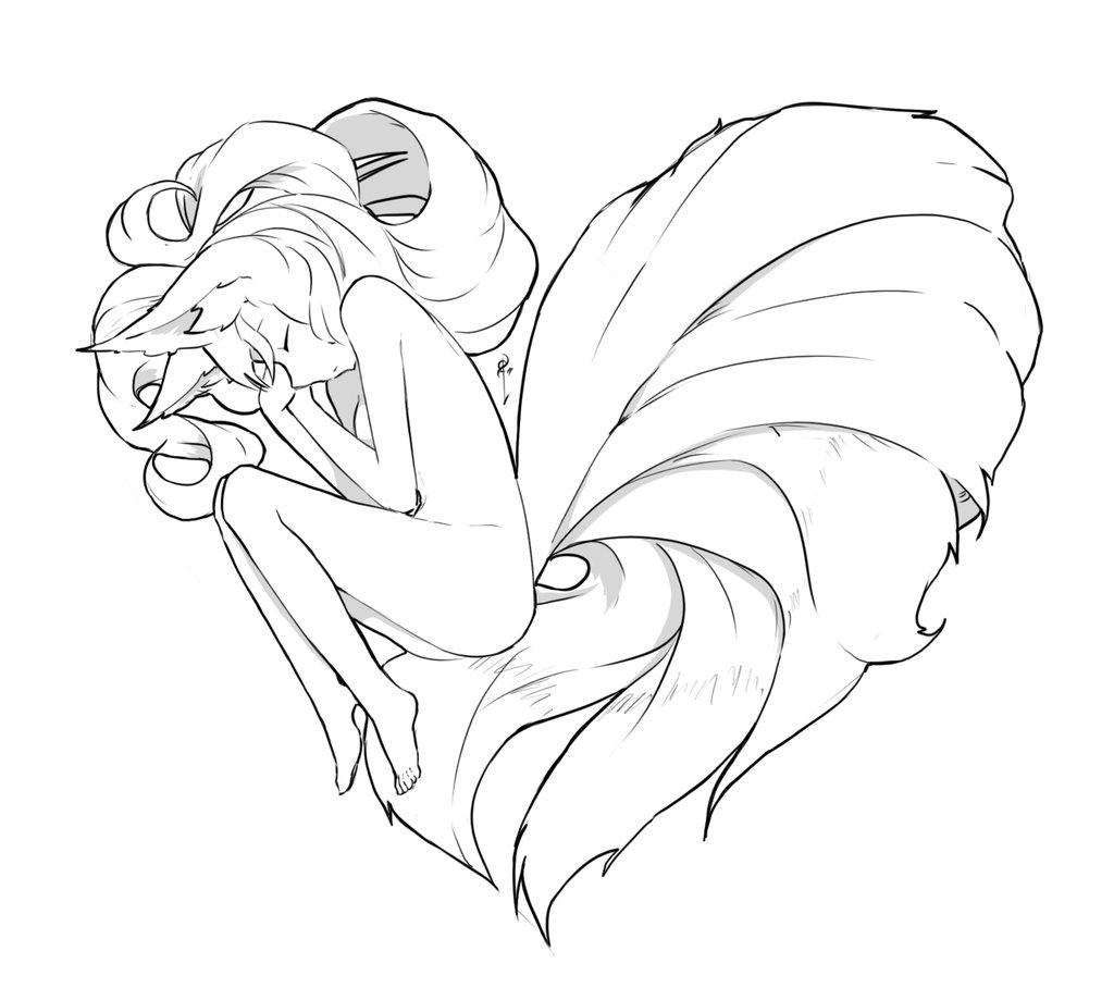 1024x908 Kitsune Heart Foxgirl Kitsune Know Your Meme