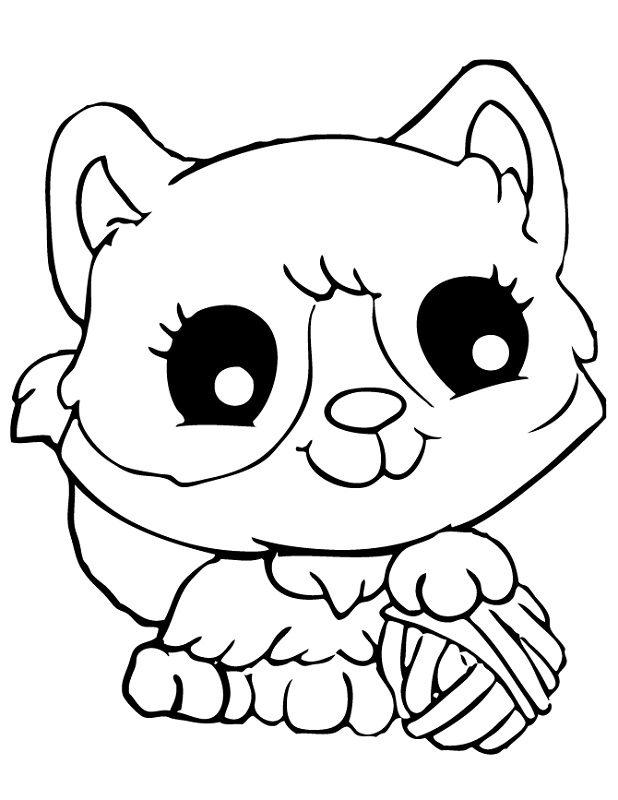 Kitten Face Drawing At GetDrawings