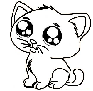 kitty drawing at getdrawings com free for personal use kitty