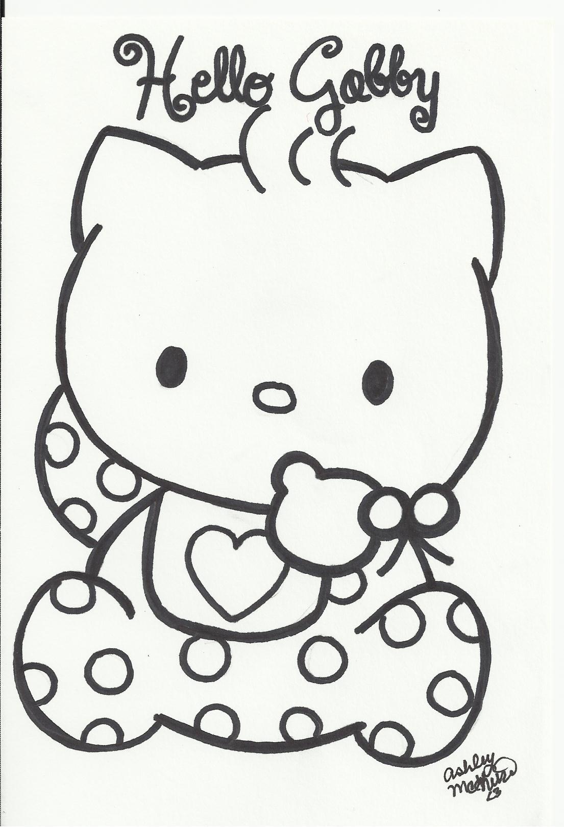 1105x1620 Hello Kitty Baby Clipart