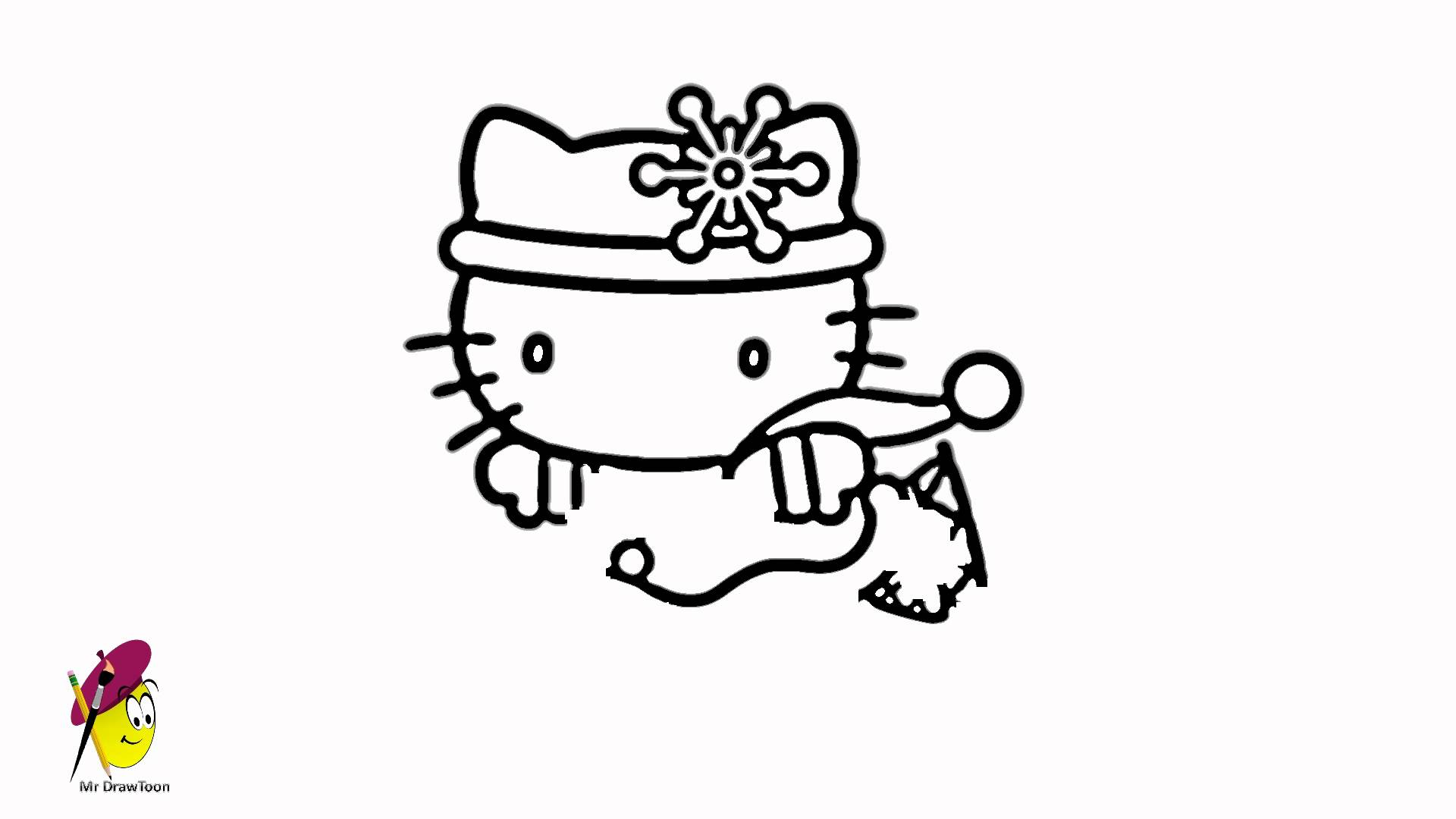 Kitty Drawing Easy at GetDrawings | Free download