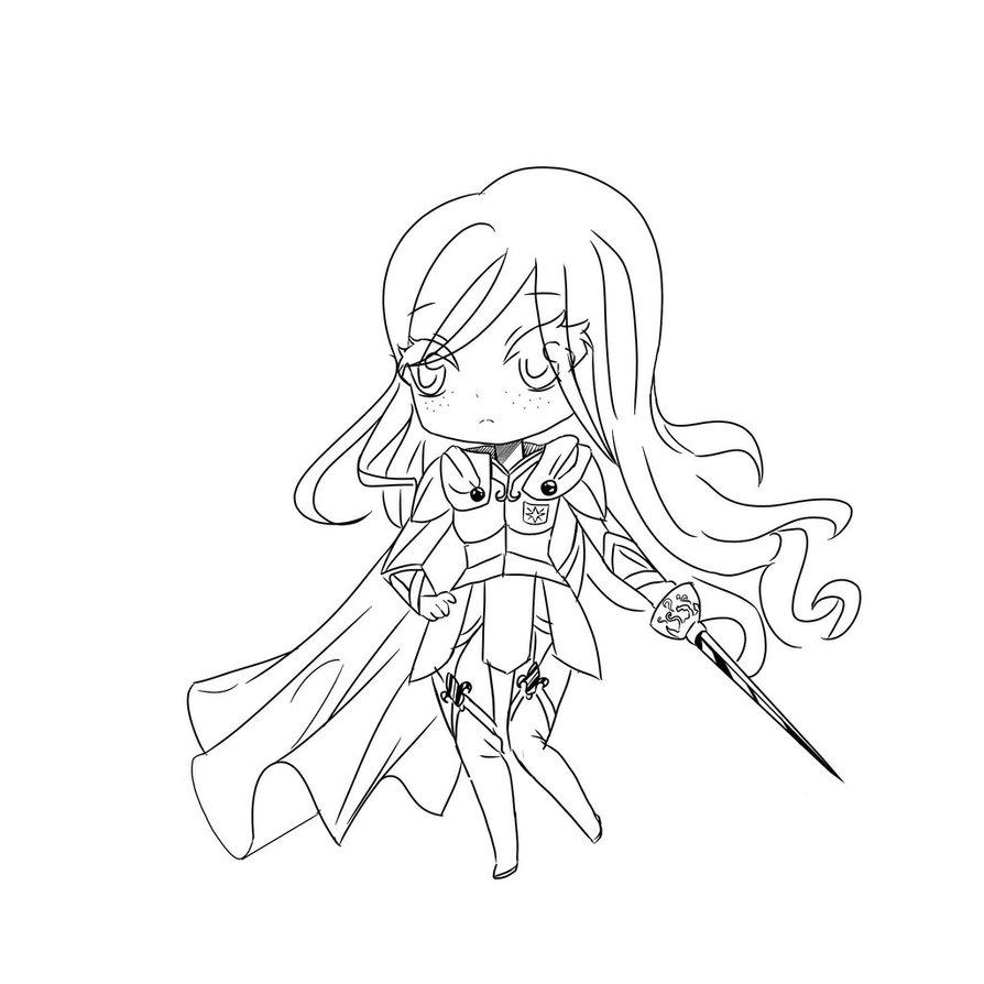 894x894 Sketch Royal Guard By Sweety Black Kitty