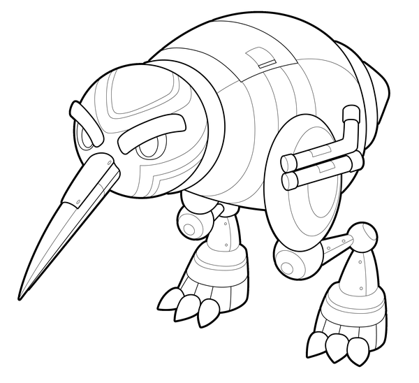 600x548 Colorme Mecha Kiwi By Cubewatermelon