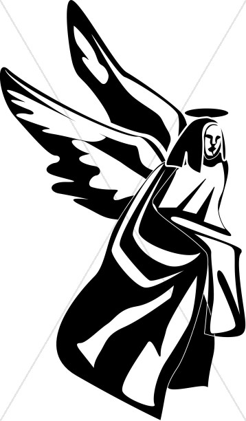 358x612 Kneeling Angel Clipart Angel Clipart