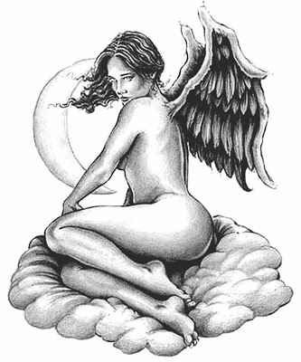 333x400 Lipby Blogs Cloud Angel Tattoo Design