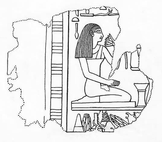 537x472 Filerelief Fragment Depicting A Kneeling Woman Met 30.3.239
