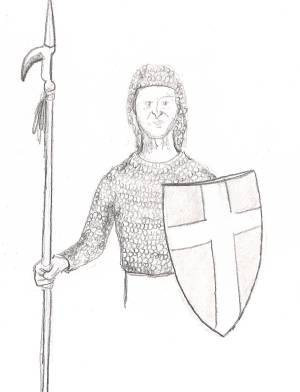 300x392 Lesson 13 Drawing Chainmail