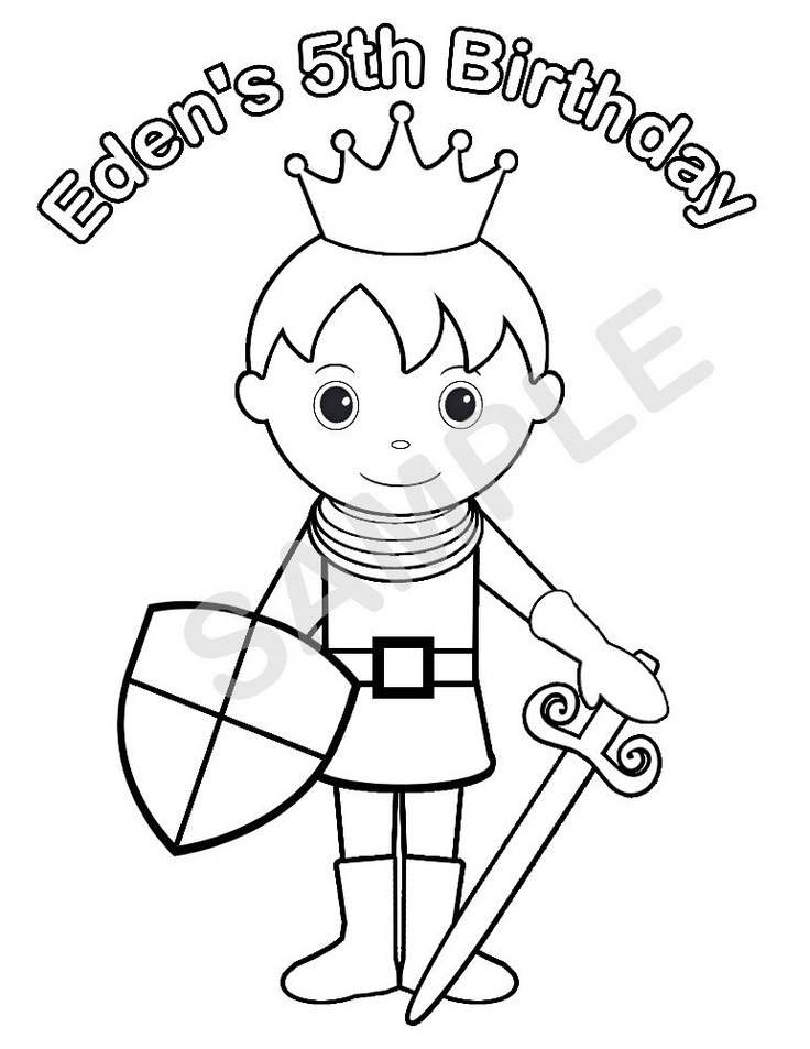 Knight Drawing For Kids