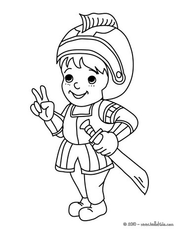 364x470 Knight Coloring Pages, Free Online Games, Videos For Kids, Kids