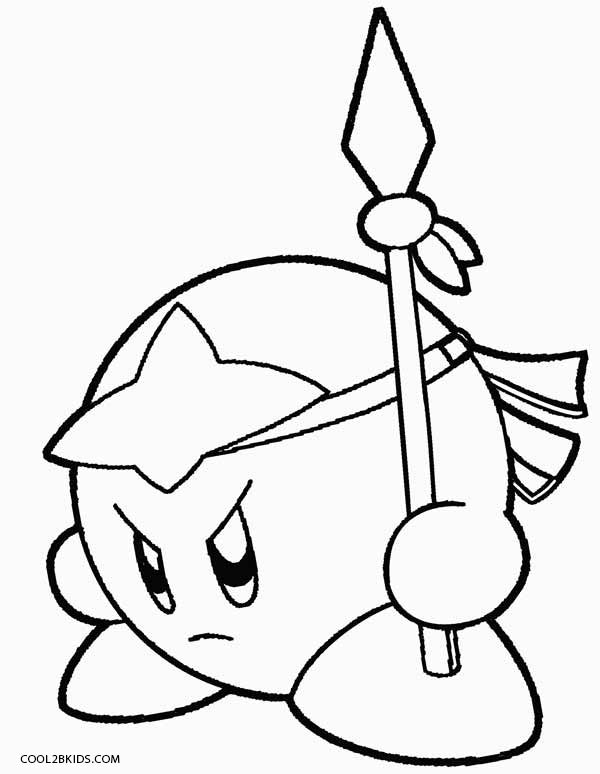 600x774 Printable Kirby Coloring Pages For Kids Cool2bkids