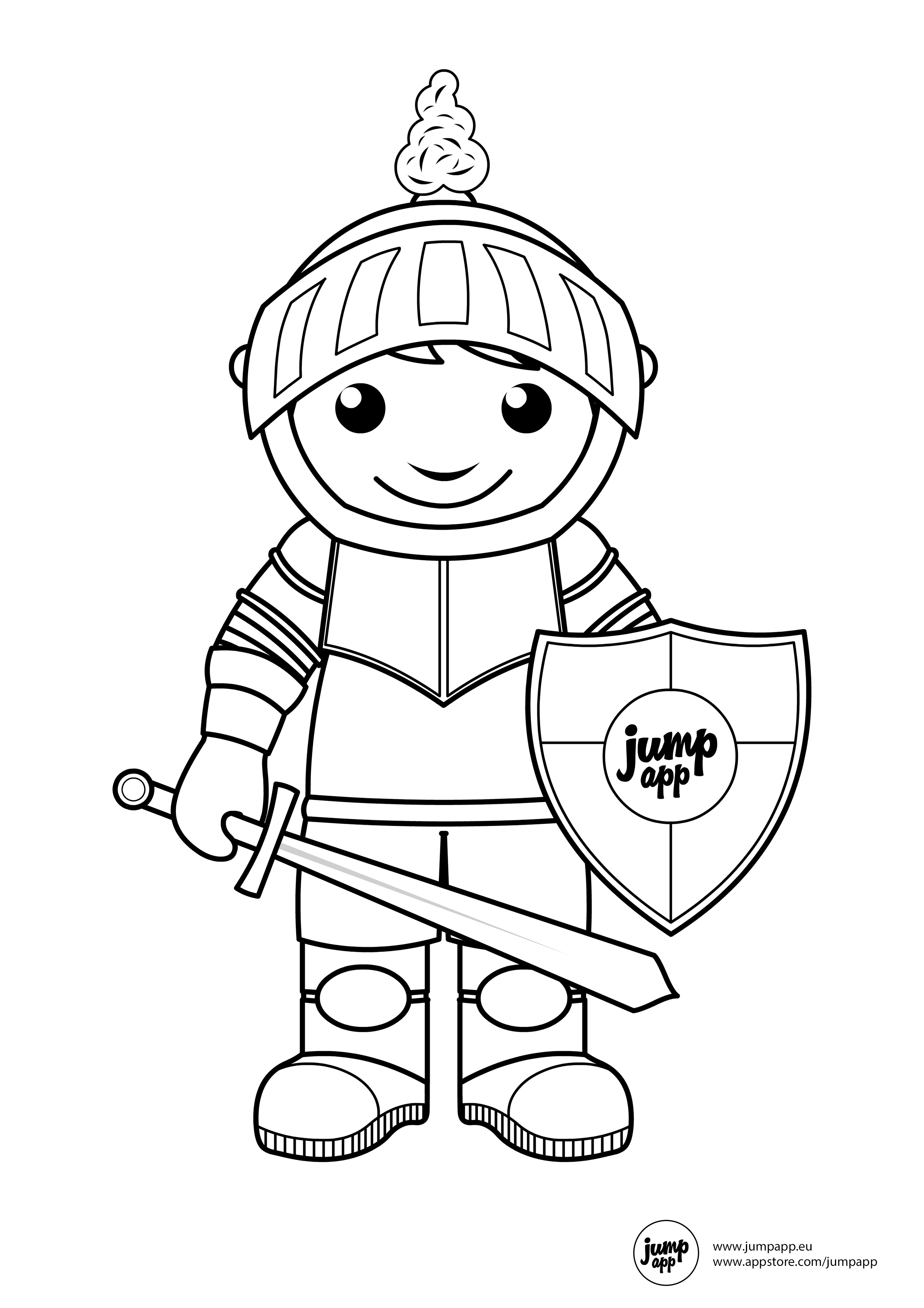 2480x3508 Knight Printable Coloring Pages Knight, Pre School