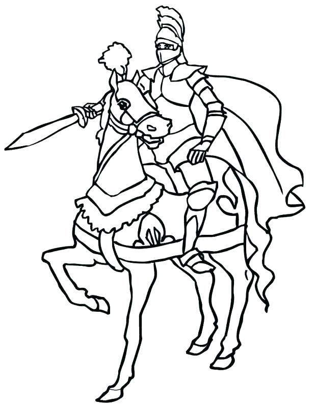 618x799 Elegant Knight Coloring Pages Image Printable For Kids Meta Robin