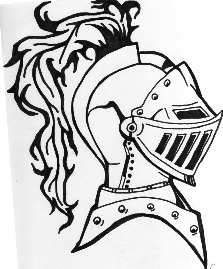 Knight In Armor Drawing At GetDrawings