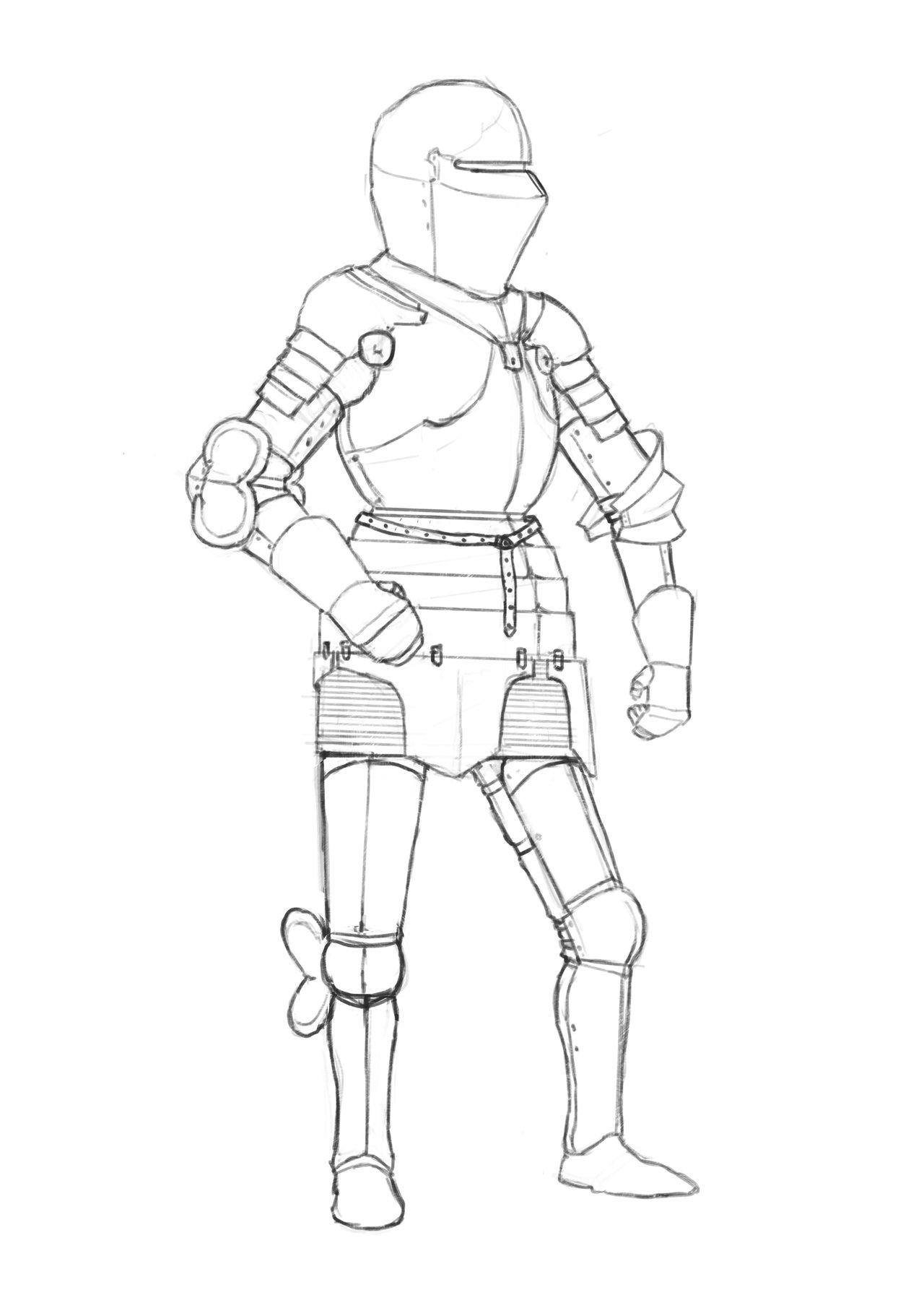 1280x1811 Knight Plate Armor By Patrykrozwora