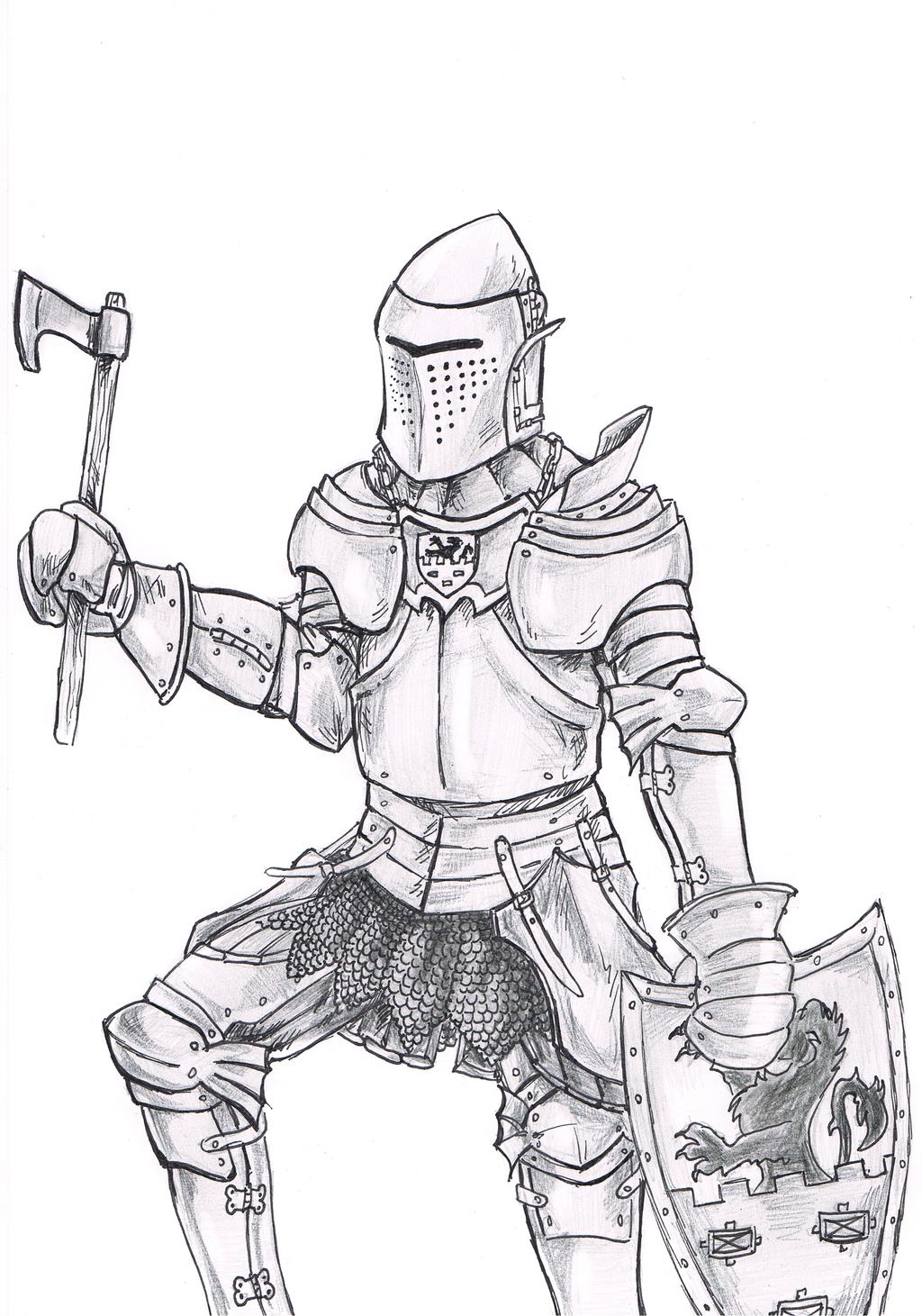 1024x1461 Project Of My Knight Armor From Xiv Xv Century By Jurdasz