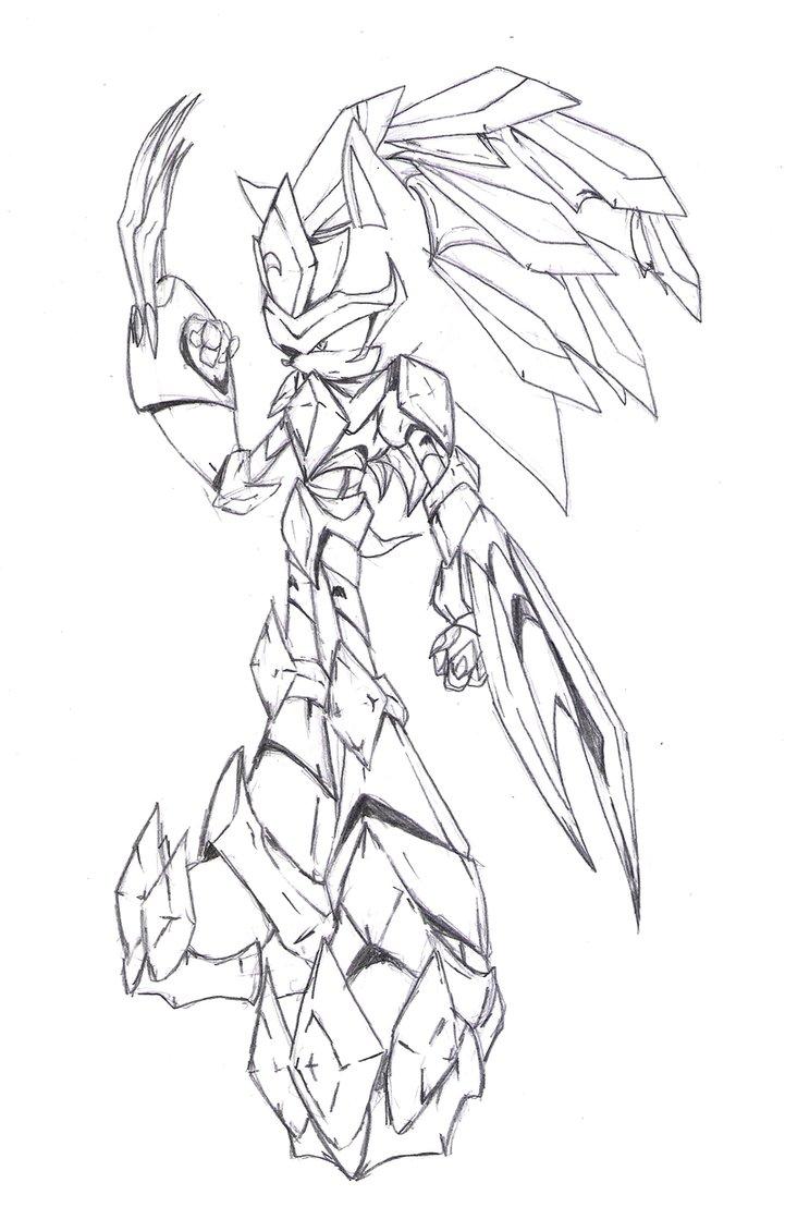 721x1108 Sky Knight Armor Sketch By Fly Sky High