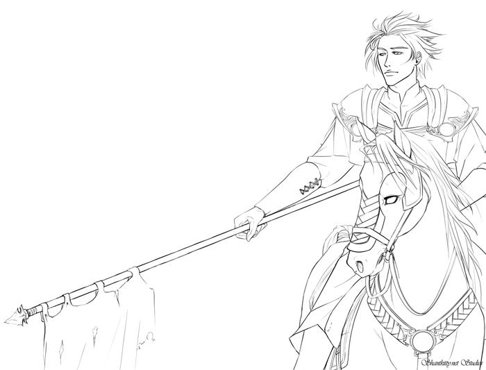 700x533 Knight In Shining Armor By Kitsunedajfox