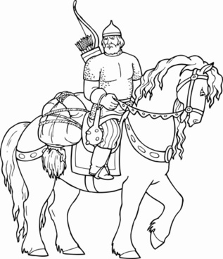 317x368 Knight Horse Free Vector Download (829 Free Vector) For Commercial