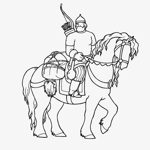 500x500 Vector Roman Knight, Ancient Rome, Knight, Horse Png And Vector