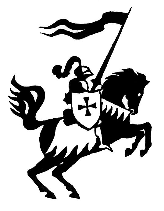 538x690 Knight On Horse Clipart