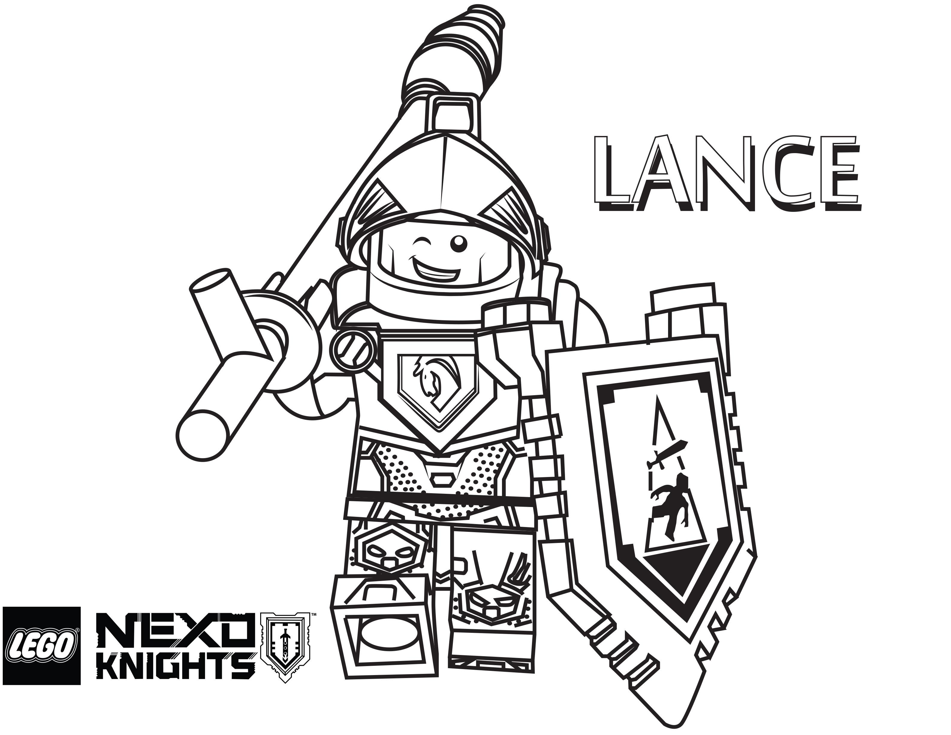 3173x2453 Lance Coloring Page, Printable Sheet